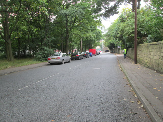 Gledhow Lane - looking towards Oakwood Clock