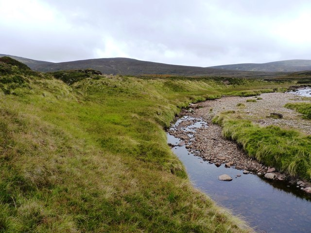 River Feshie - looking upstream
