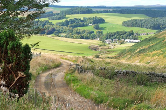 Track from Eddleston