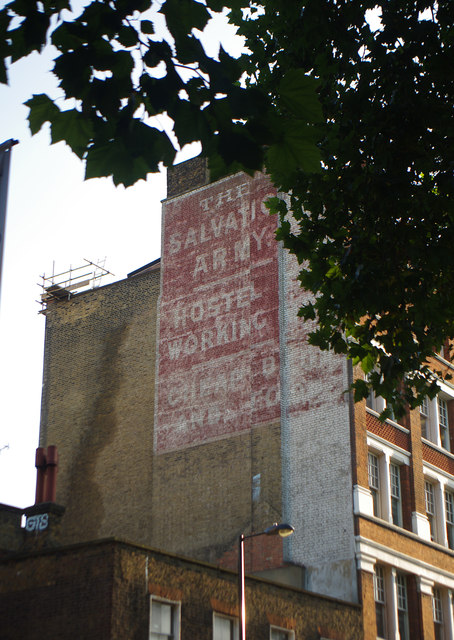 'Ghost sign', Old Street