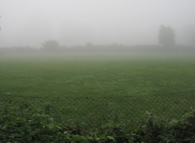 Infant school playing field