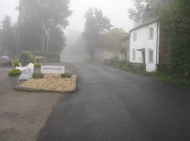 Rectory Road - a misty morning