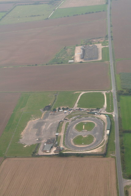 Skegness Stadium: aerial 2013