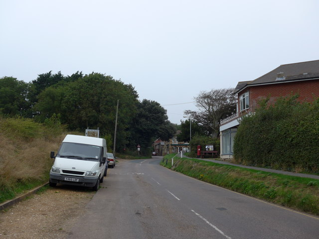 Looking north-northwest in Gate Lane