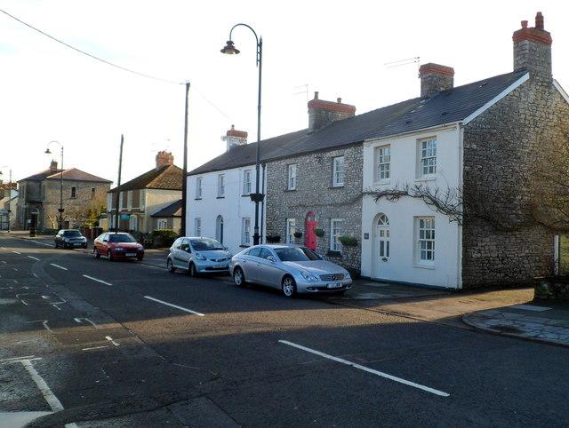 Westgate houses in Cowbridge