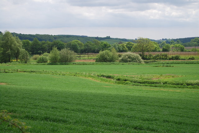 Farmland in the Rother Valley