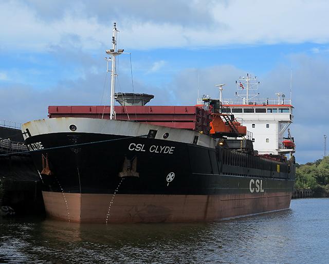 CSL Clyde at Ellesmere Port