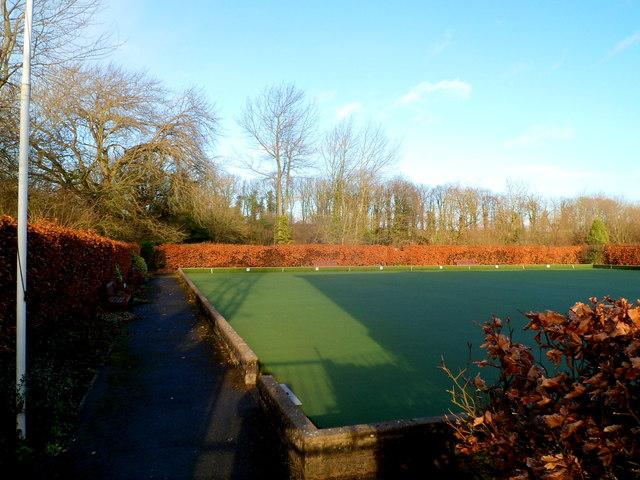 Cowbridge bowling green