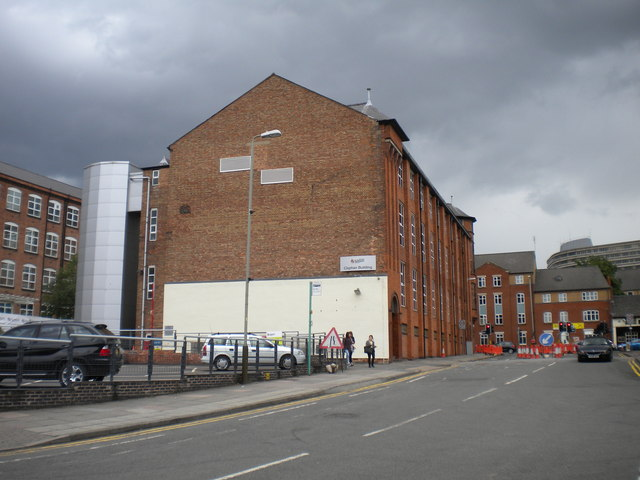 Bonners Lane and Clephan Building, De Montfort University