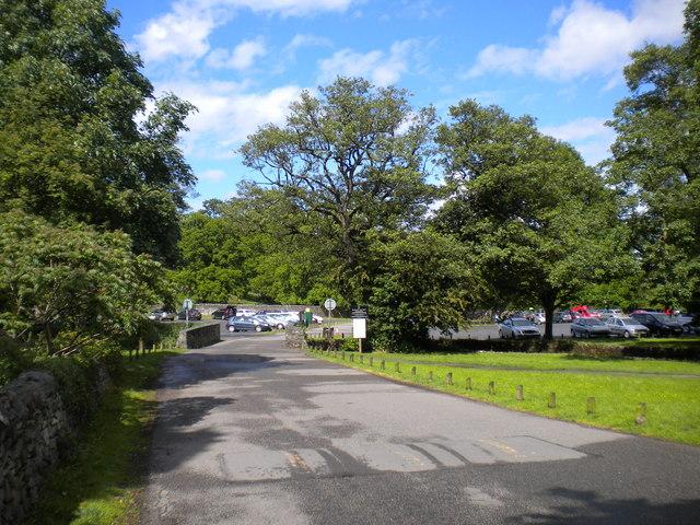 Bradgate Park entrance, Newtown Linford