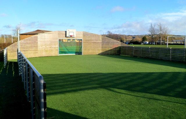 Multi-use sports court in Bear Field Cowbridge