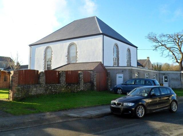 NE side of the United Free Church, Cowbridge