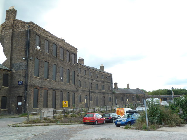 King's Cross Goods Depot - fish and coal offices