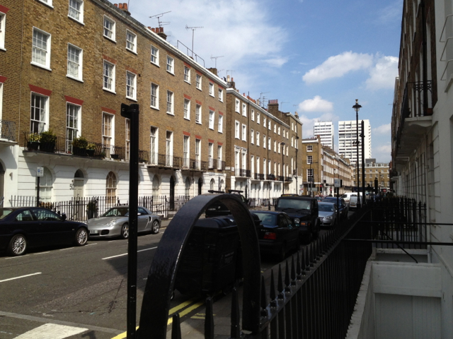 East on York Street, Marylebone