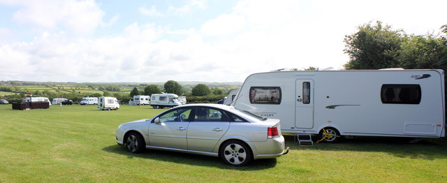 Cardigan Bay Camping and Caravanning Club Site, LLwynhelyg, Cross Inn