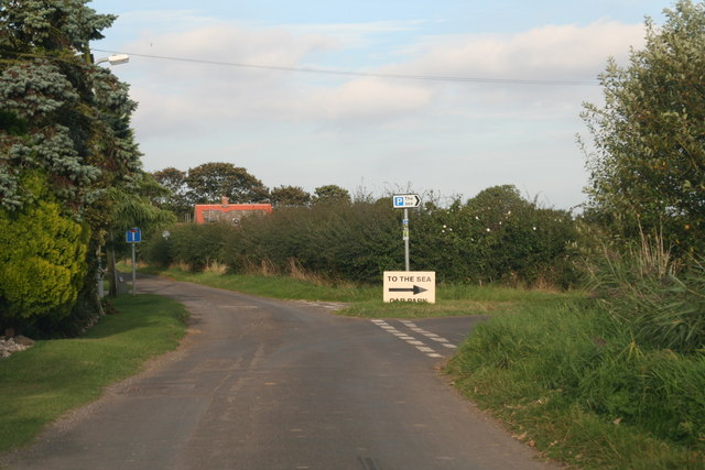 """""""To the Sea"""": the road to the Crook Bank Car Park"""