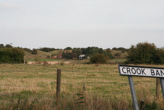 House in the dunes, Crook Bank