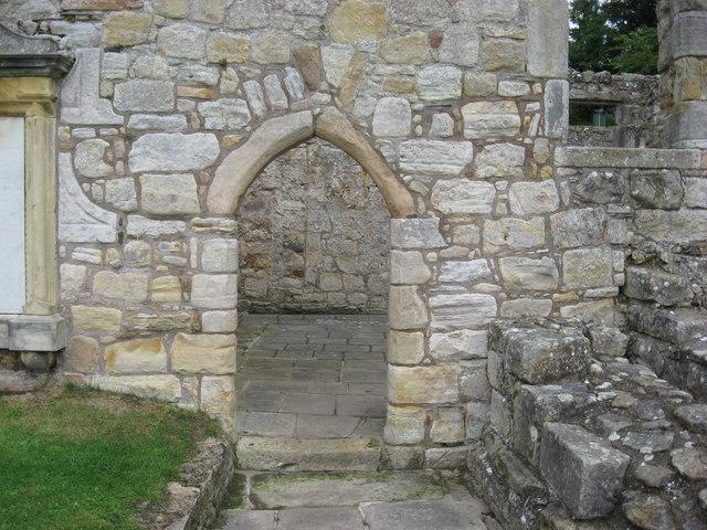 'Portal' St Bridget's Kirk - Dalgety Bay