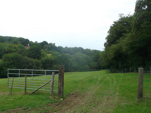 Footpath to Birchett's Green