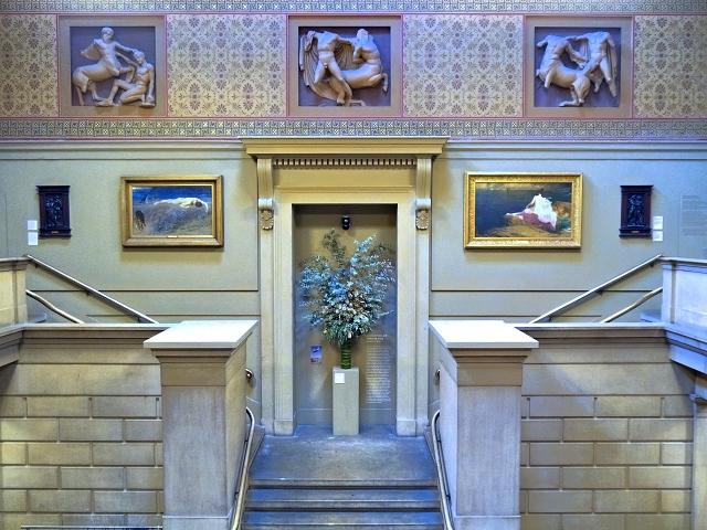 Inside Manchester Art Gallery