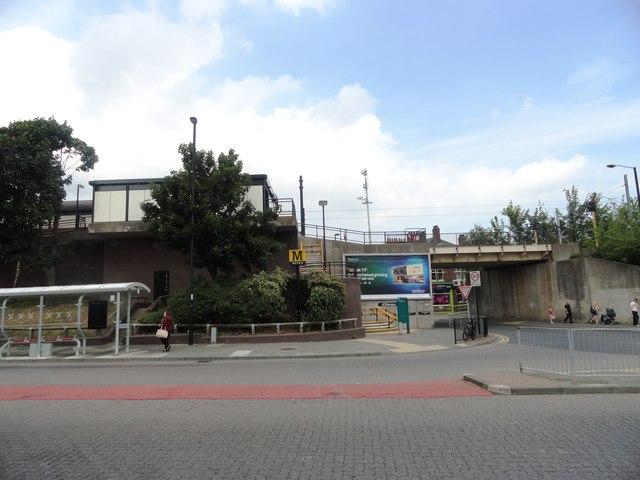 Bus and Metro Stations at Wallsend