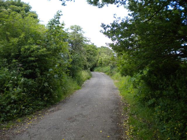 Lane south of Meerbrook