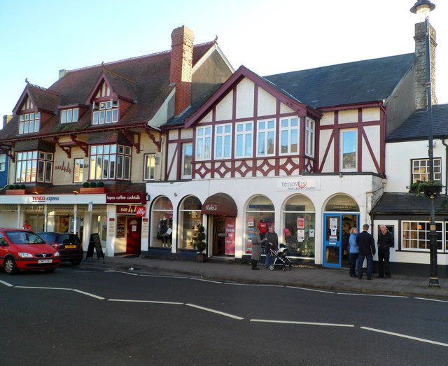 Several High Street businesses, Cowbridge
