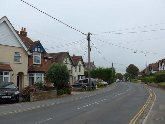 Telegraph pole in The Avenue