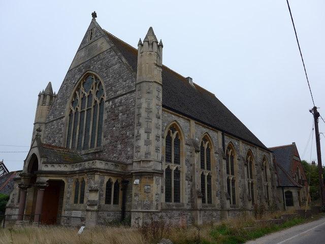The former Totland Methodist Church