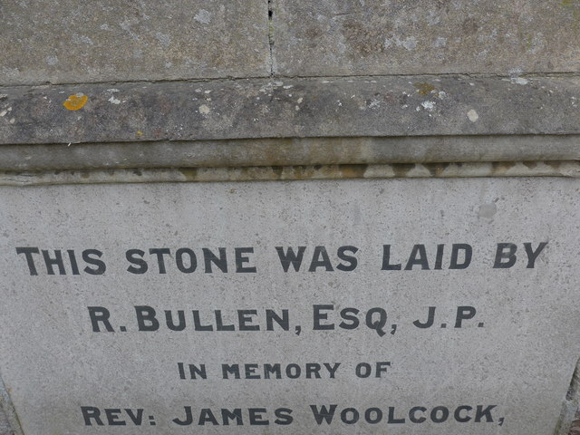 Commemoration stone, Totland Methodist Church (4a)