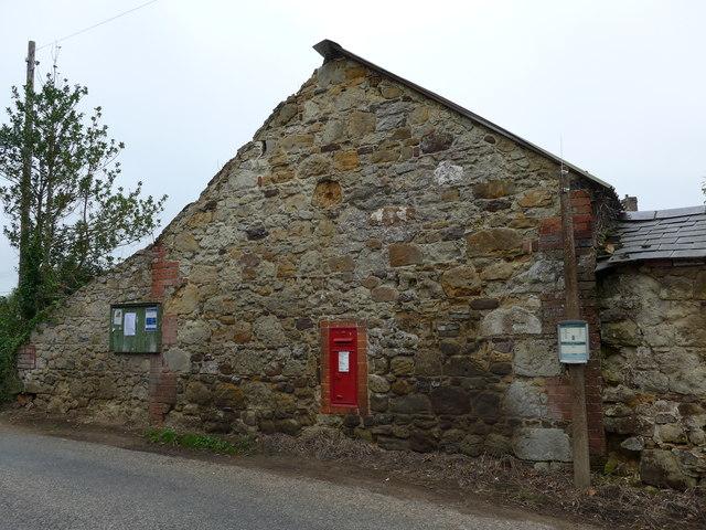 Postbox at Chillerton Farm