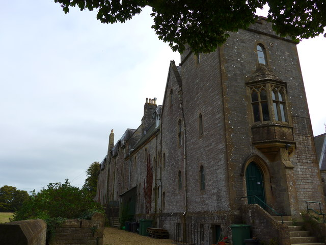 Carisbrooke Priory: northern aspect