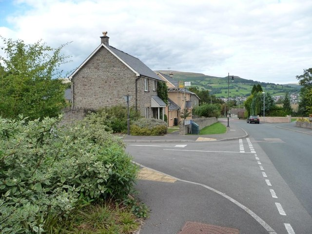 Hillside Road, Llangattock