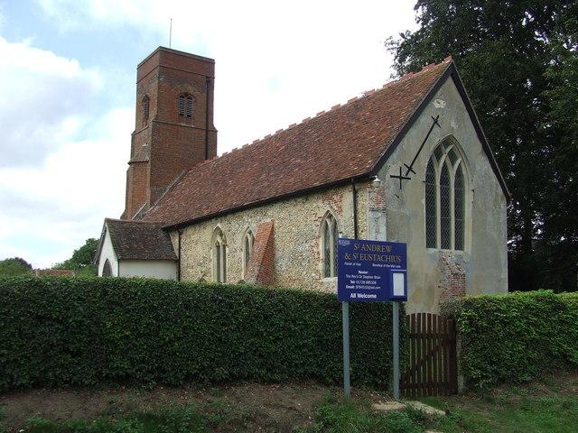St Andrew and St Eustachius Hoo
