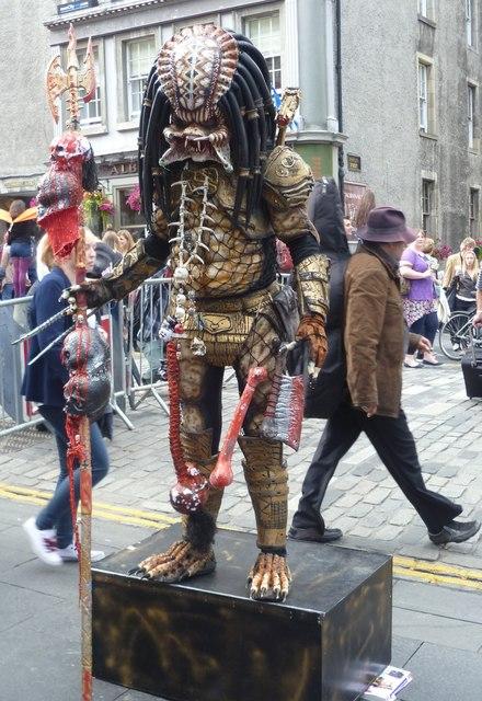 Alien in the High Street