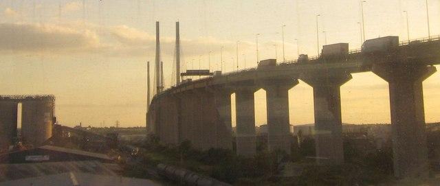 North side of Queen Elizabeth II bridge