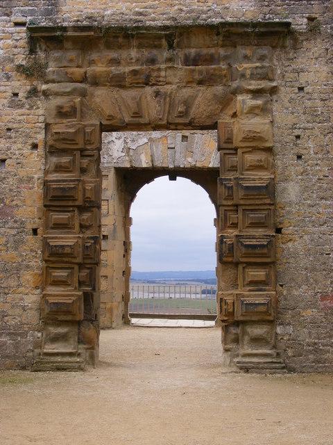 Castle Door view
