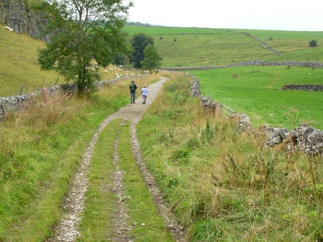 Limestone Way in Hay Dale