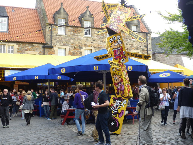 Pleasance Courtyard during the Festival