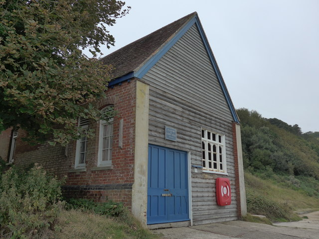 Totland's old lifeboat station