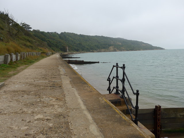 Looking south-south-west along the coastal path