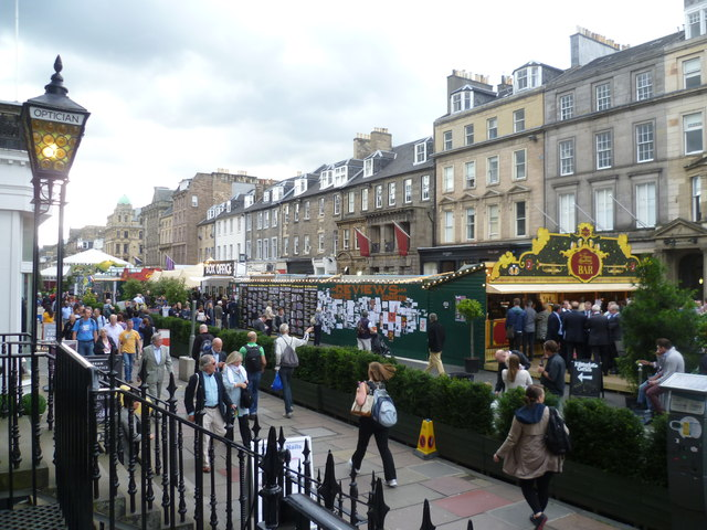 George Street during the Festival