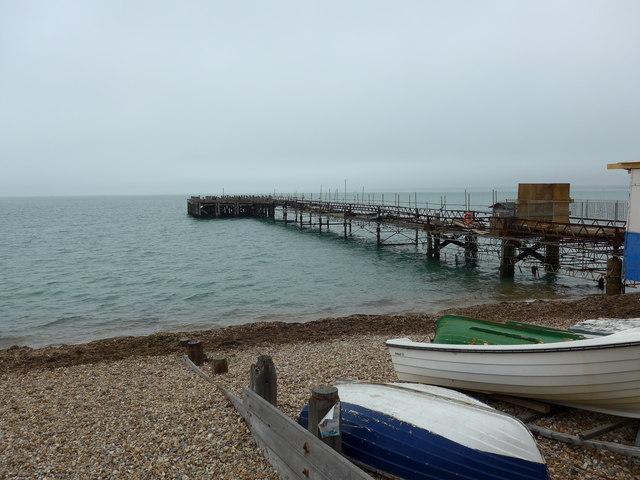 Totland Pier in September 2013