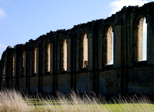 Byland Abbey's North Window Arches