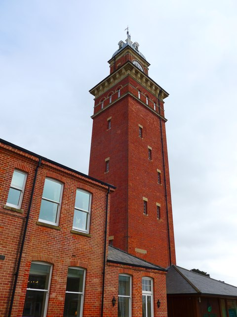 Whitecroft Hospital: tower