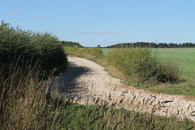 A track at former RAF Wellingore