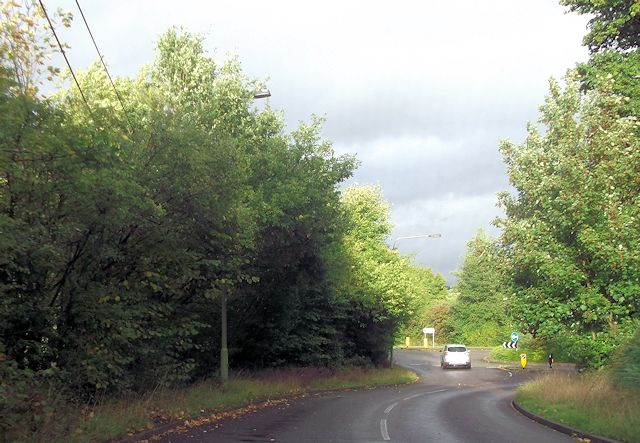 Knightwood Road roundabout