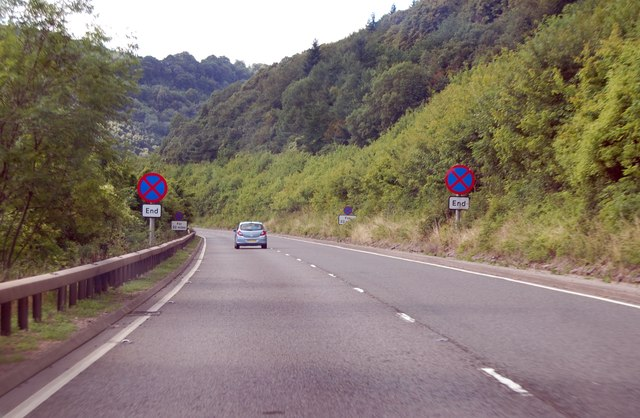 A40 in the Wye Valley
