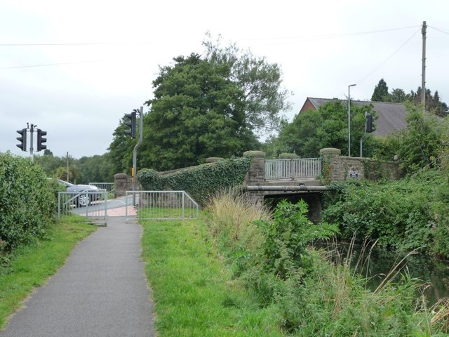 Panteg Bridge [no 49] from the north