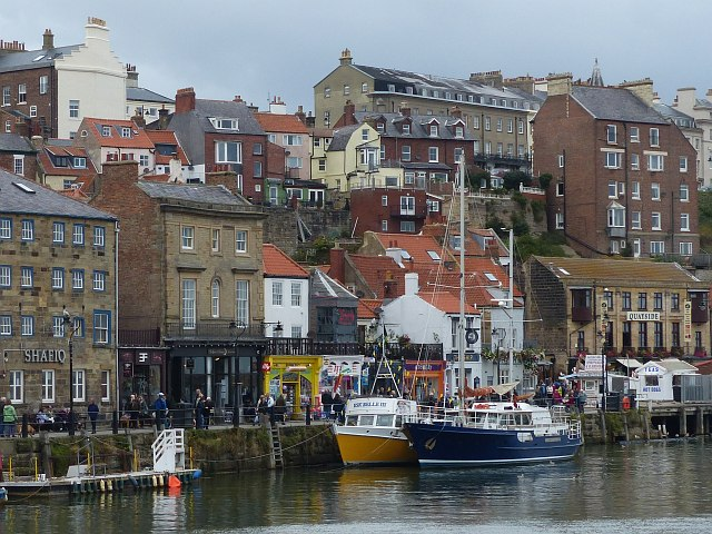 Whitby quayside